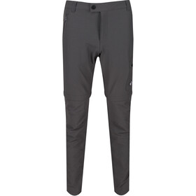 Regatta Highton Stretch Pantalones Zip-Off Hombre, magnet